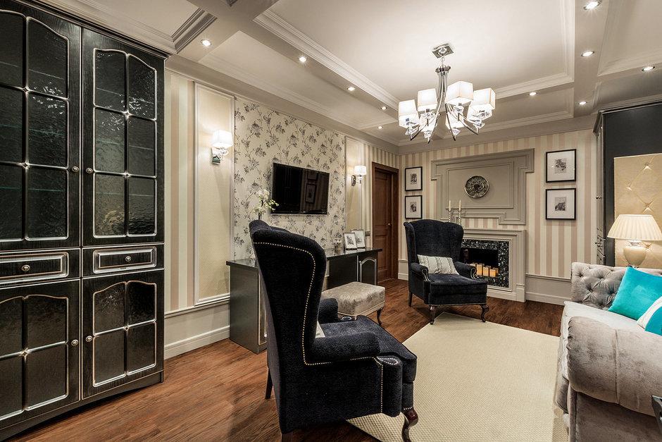 Фотография: Гостиная в стиле Прованс и Кантри, Интерьер комнат – фото на InMyRoom.ru