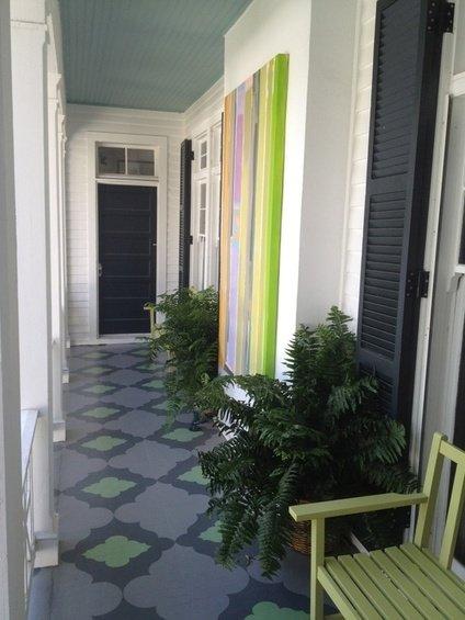 Фотография: Терраса в стиле Современный, Декор интерьера, Декор дома, Пол – фото на InMyRoom.ru
