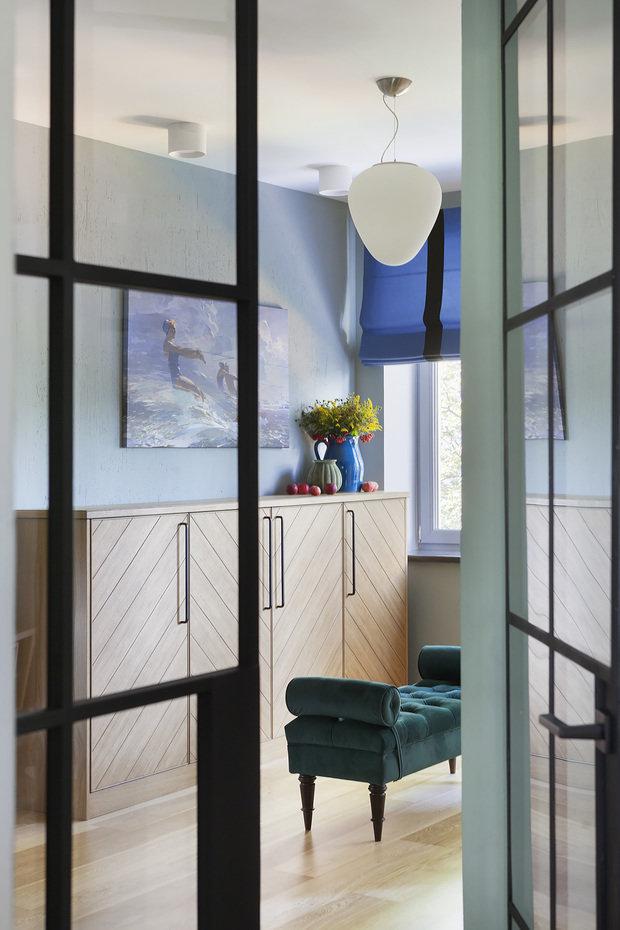 Фото из портфолио Дизайн квартиры для молодой семьи с двумя детьми в переулках Нового Арбата – фотографии дизайна интерьеров на INMYROOM