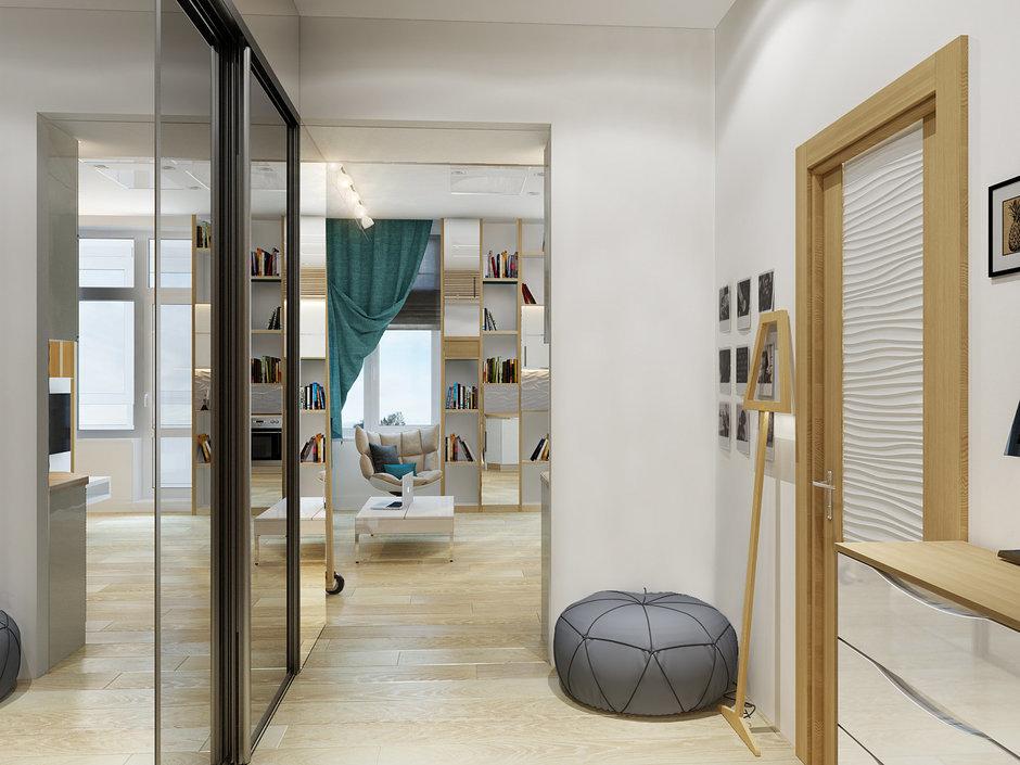 Фотография: Прихожая в стиле Современный, Малогабаритная квартира, Квартира, Хранение, Мебель и свет, Дома и квартиры, Проект недели – фото на InMyRoom.ru
