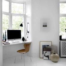 Фотография: Кабинет в стиле Скандинавский, Малогабаритная квартира, Квартира, Советы – фото на InMyRoom.ru