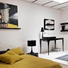 Фото из портфолио Трехцветная гамма из белого, красного и черного – фотографии дизайна интерьеров на INMYROOM