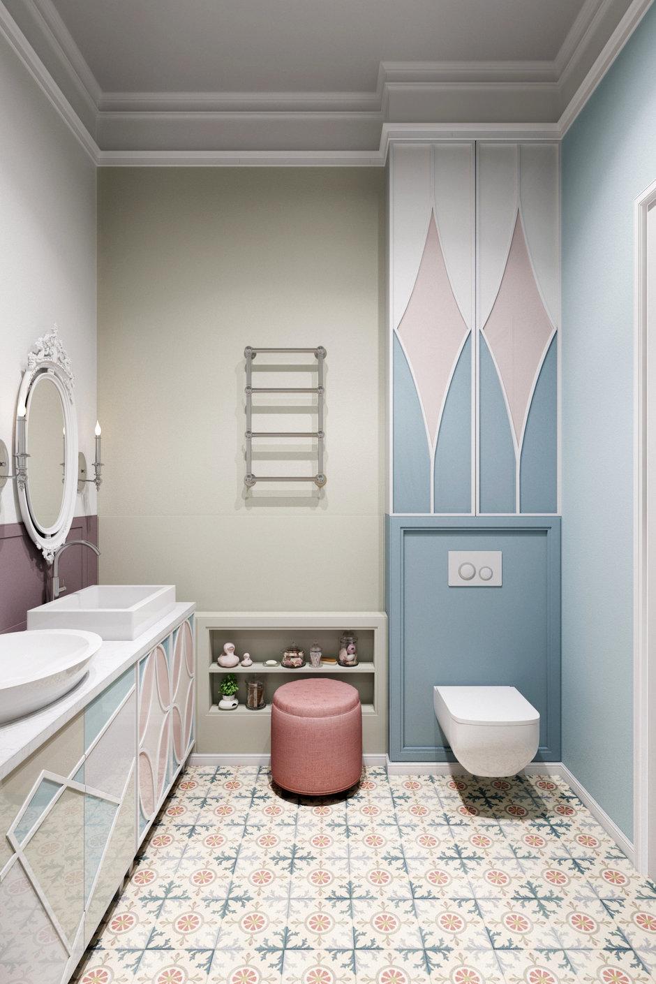 Фотография:  в стиле , Квартира, Проект недели, Москва, Светлана Гаврилова, 3 комнаты, Более 90 метров – фото на InMyRoom.ru