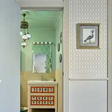 Фотография: Ванная в стиле Кантри, Дом, Проект недели, Москва, Наталья Митракова – фото на InMyRoom.ru