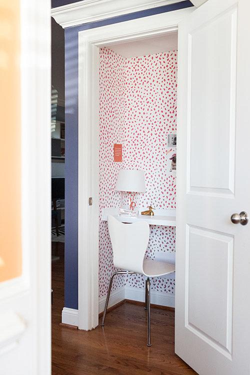 Фотография: Кабинет в стиле Современный, Малогабаритная квартира, Декор, Советы, Переделка – фото на InMyRoom.ru