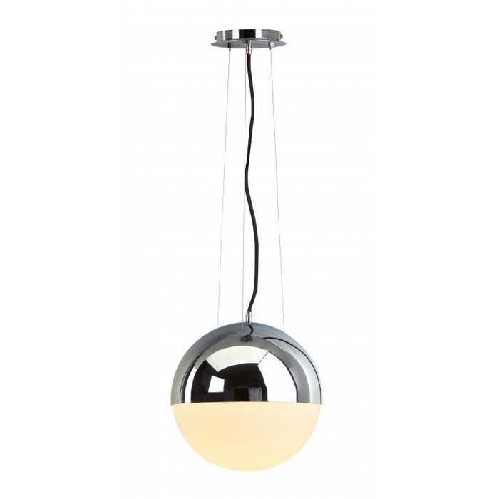 Светильник подвесной Big Light Eye хром / стекло матовое