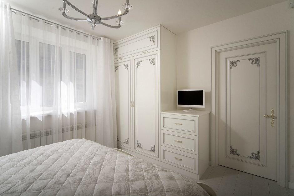 Фотография: Спальня в стиле Классический, Квартира, Дома и квартиры – фото на InMyRoom.ru