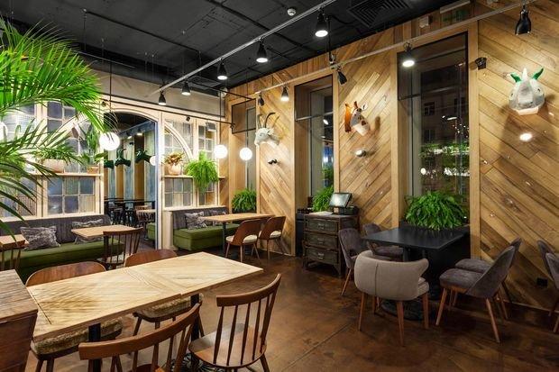 Фото из портфолио  Кафе в Киеве – фотографии дизайна интерьеров на INMYROOM