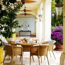 Фотография: Терраса в стиле Восточный, Декор интерьера, Дом, Декор дома – фото на InMyRoom.ru
