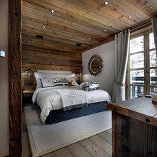 Фотография: Спальня в стиле Кантри, Дом, Дома и квартиры, Шале – фото на InMyRoom.ru