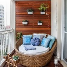 Фотография: Балкон в стиле Эко, Декор интерьера, Квартира, Декор – фото на InMyRoom.ru