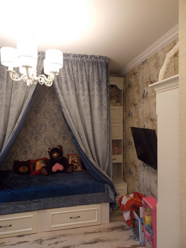 Фотография: Ванная в стиле Прованс и Кантри, Детская, Советы, Гид, как оформить детскую – фото на InMyRoom.ru
