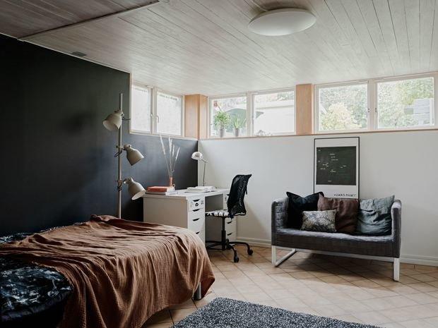 Гостевая комната на цокольном этаже
