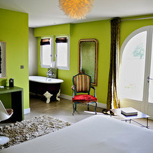 Фотография: Спальня в стиле Кантри, Франция, Дома и квартиры, Городские места, Отель – фото на InMyRoom.ru