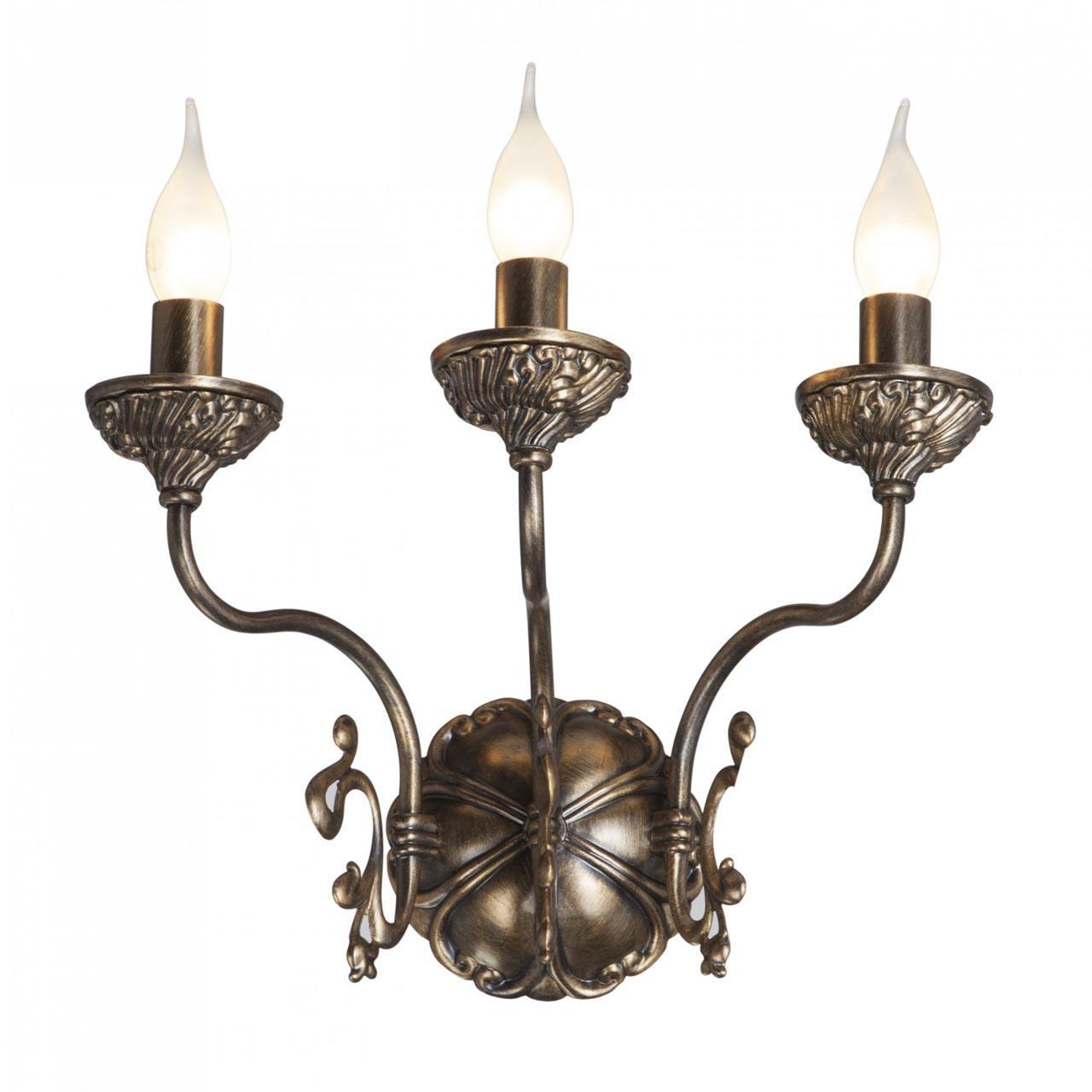 Купить Бра из металла коричневого цвета, inmyroom, Россия