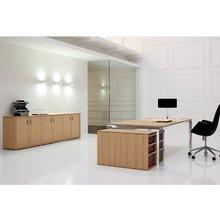Дизайнерский стол HaN Zebrano (хромированные опоры)