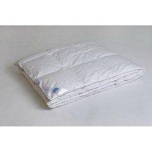 Одеяло пуховое кассетное теплое полуторное 155 см Афродита