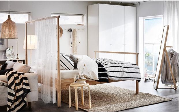 Фотография: Спальня в стиле Минимализм, Советы, ИКЕА, товары для дома, скидки – фото на INMYROOM