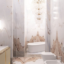 Фото из портфолио Дизайн пентхауса в ЖК Резиденция Монэ площадью 126 кв.м. в современном стиле для молодого человека – фотографии дизайна интерьеров на INMYROOM