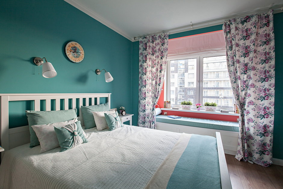 Фотография: Спальня в стиле Прованс и Кантри, Квартира, Дома и квартиры – фото на InMyRoom.ru