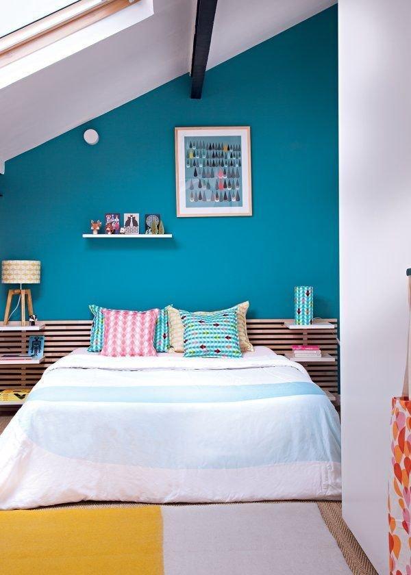 Фотография: Спальня в стиле Современный, Дом, Мебель и свет, Дача, Дом и дача, как обустроить мансарду, идеи для мансарды – фото на InMyRoom.ru