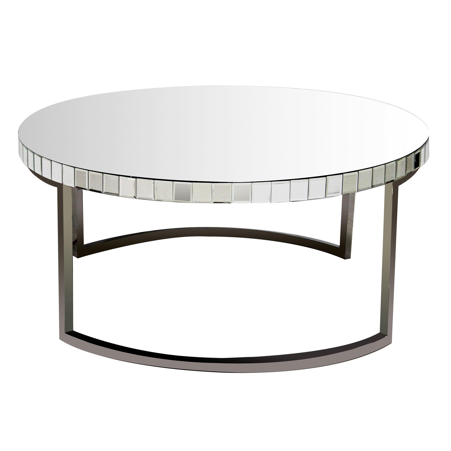 Зеркальный кофейный столик Bolshevico