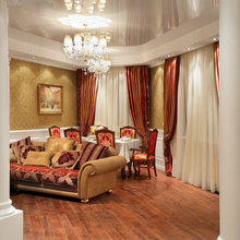 Фото из портфолио Классический интерьер трёхкомнатной квартиры 126 кв. м – фотографии дизайна интерьеров на INMYROOM
