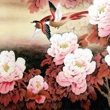 """Триптих на холсте """"Чудесное цветение"""""""