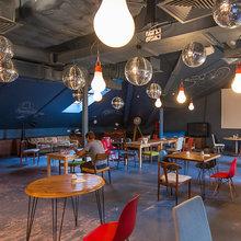 Фотография:  в стиле Лофт, Современный, Эклектика, Офисное пространство, Офис, Дома и квартиры – фото на InMyRoom.ru