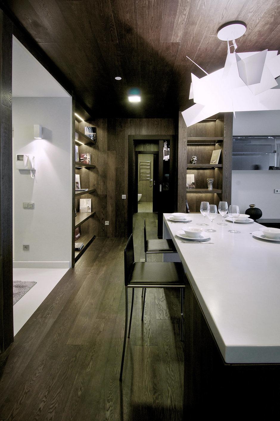 Фотография: Кухня и столовая в стиле Лофт, Современный, Квартира, Дома и квартиры, IKEA, Проект недели – фото на InMyRoom.ru