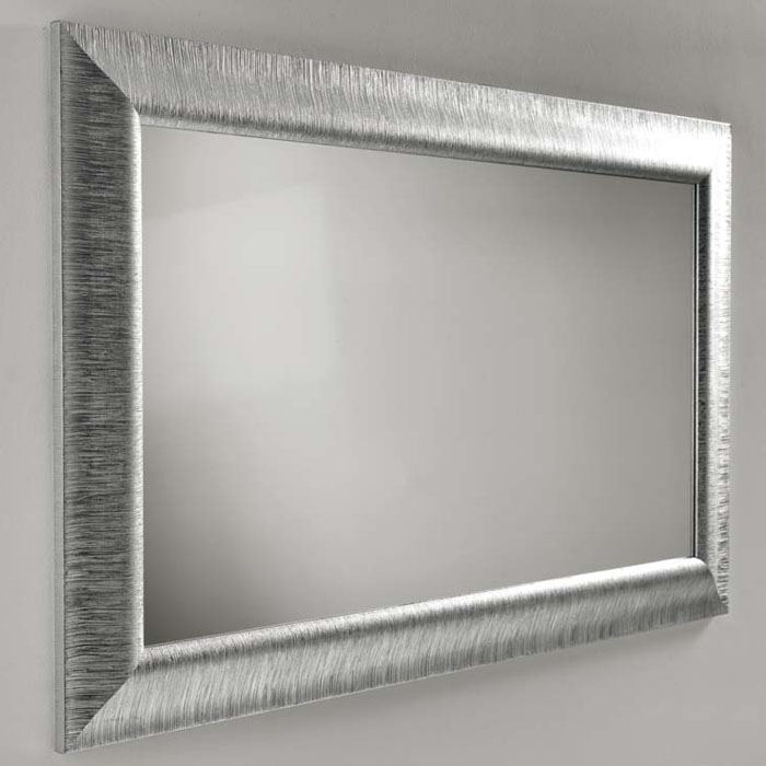 Купить Настенное зеркало Anastasia в раме серебристого цвета, inmyroom, Италия