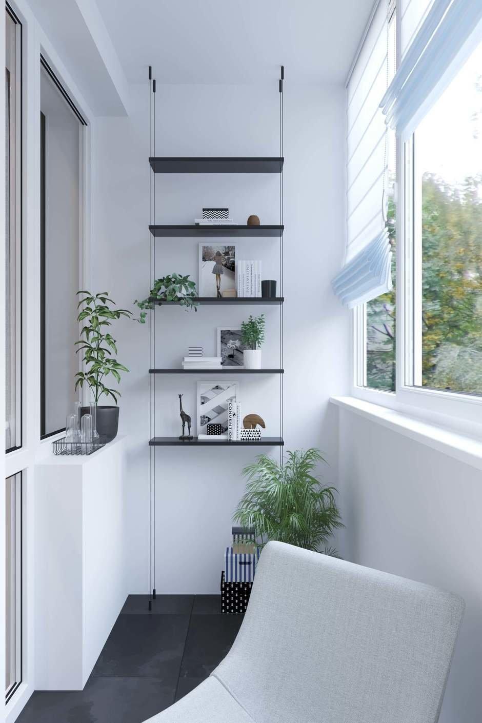Фотография: Балкон в стиле Современный, Квартира, Проект недели, Москва, Geometrium, 4 и больше, Более 90 метров – фото на InMyRoom.ru