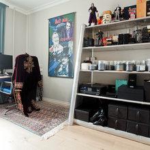 Фотография: Кабинет в стиле Лофт, Скандинавский, Современный, Квартира, Проект недели – фото на InMyRoom.ru