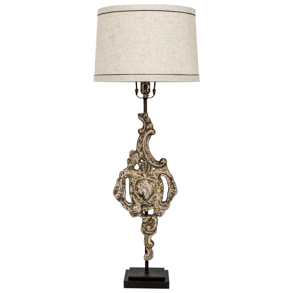 Купить Настольная лампа дельта с основанием из дерева, inmyroom, Россия