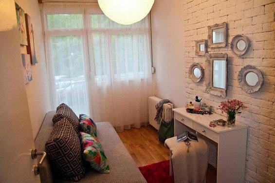 Фотография: Спальня в стиле Прованс и Кантри, Скандинавский, DIY, Малогабаритная квартира, Квартира, Дома и квартиры – фото на INMYROOM
