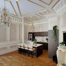 Фото из портфолио Блеск золота и сияние роскоши в интерьере – фотографии дизайна интерьеров на INMYROOM