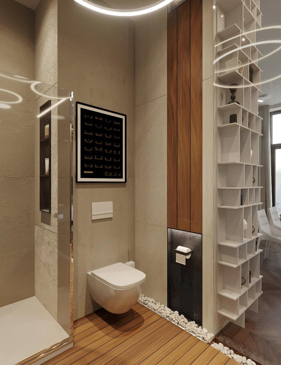 Фотография:  в стиле , Квартира, Проект недели, Москва, 2 комнаты, 40-60 метров, Монолитно-кирпичный, ЖК Art Residence, Студия «Однушечка» – фото на InMyRoom.ru