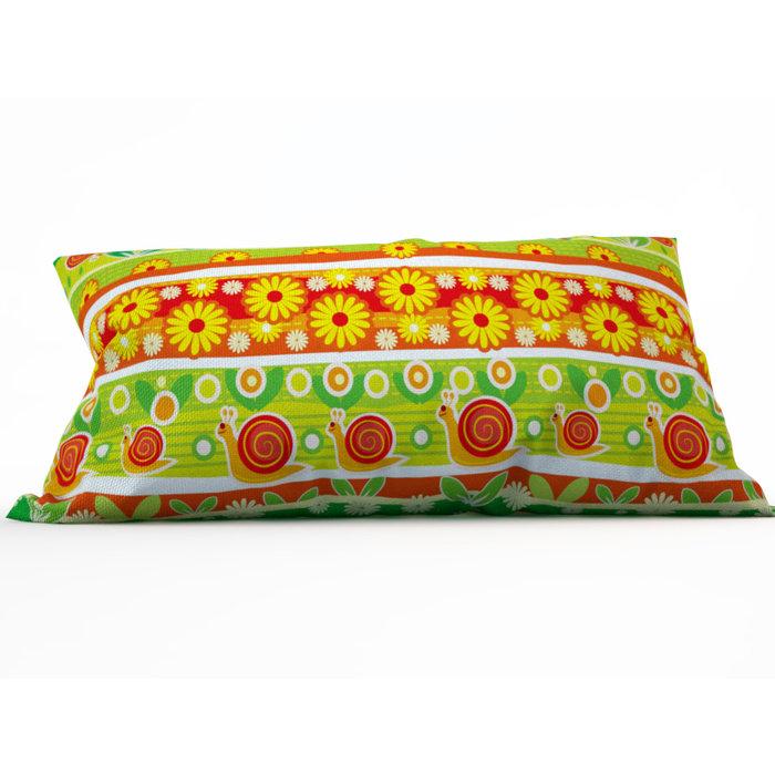 Декоративная подушка: Веселые улитки