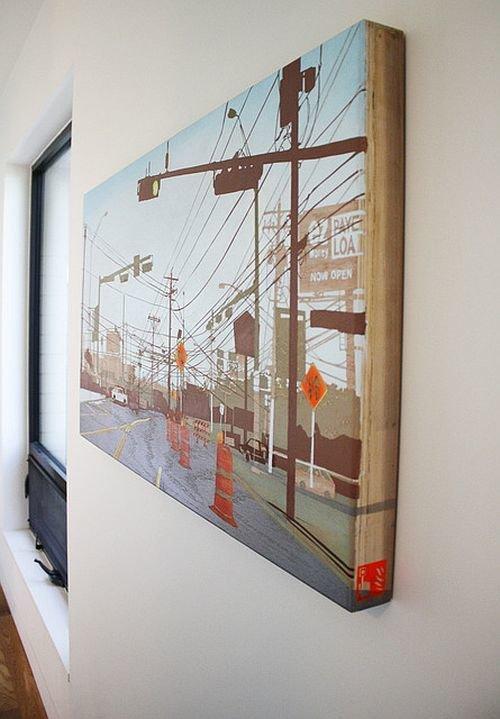 Фотография: Декор в стиле Скандинавский, Декор интерьера, Декор дома, Картины, Современное искусство – фото на InMyRoom.ru
