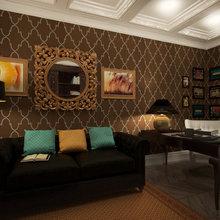 Фото из портфолио Кабинет – фотографии дизайна интерьеров на INMYROOM