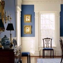 Фотография: Прихожая в стиле Кантри, Декор интерьера, Дизайн интерьера, Цвет в интерьере – фото на InMyRoom.ru