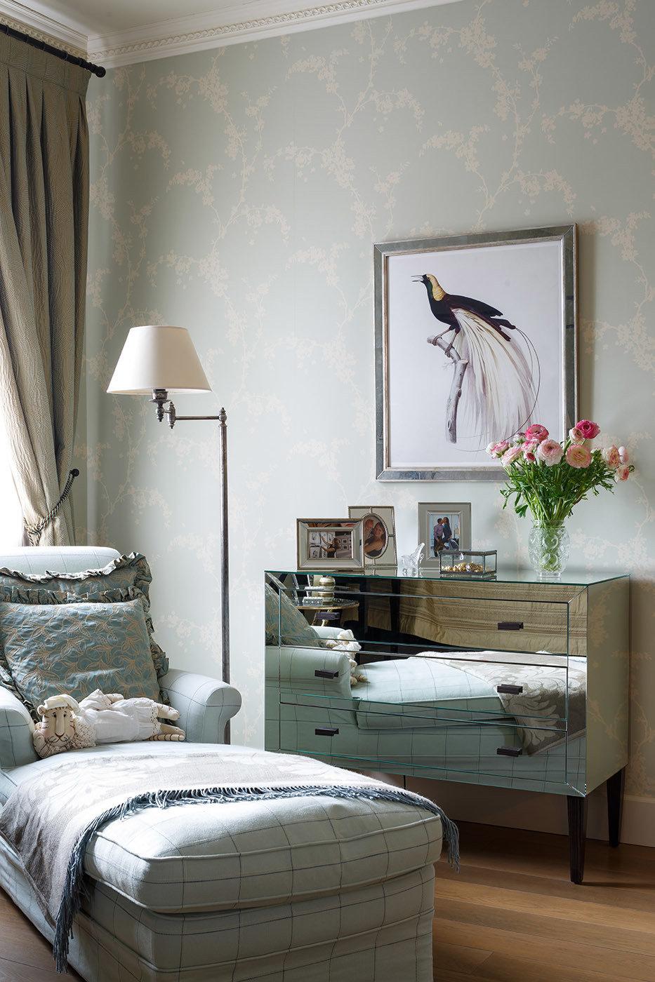Фотография: Спальня в стиле Классический, Современный, Дом, Проект недели, 4 и больше, Более 90 метров, Оксана Бутман – фото на InMyRoom.ru