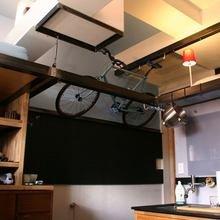Фотография: Кухня и столовая в стиле Лофт, Малогабаритная квартира, Квартира, Мебель и свет, Эко – фото на InMyRoom.ru