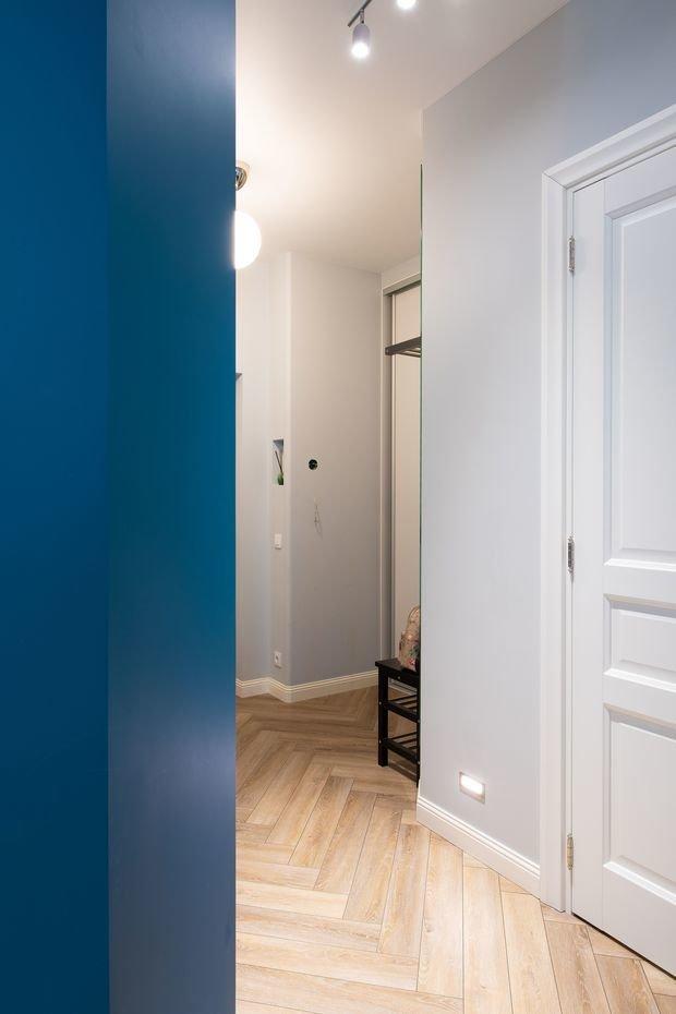 Фотография: Прихожая в стиле Современный, Минимализм, Квартира, Проект недели, Москва, Buro Brainstorm, 3 комнаты, 60-90 метров – фото на INMYROOM