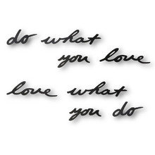 Надпись декоративная do what you love