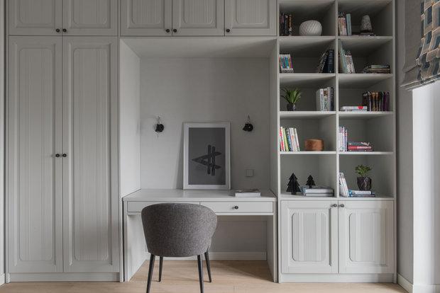 Фото из портфолио Трехкомнатная квартира в Москве, 86 м2 – фотографии дизайна интерьеров на INMYROOM