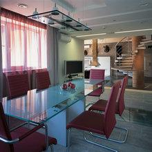 Фото из портфолио Дизайн интерьера загородного дома – фотографии дизайна интерьеров на INMYROOM