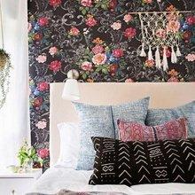 Фотография: Спальня в стиле Кантри, Малогабаритная квартира – фото на InMyRoom.ru