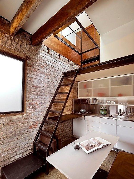Фотография: Кухня и столовая в стиле Лофт, Советы – фото на INMYROOM