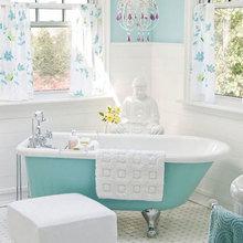Фотография: Ванная в стиле Восточный, Интерьер комнат, Декоративная штукатурка – фото на InMyRoom.ru